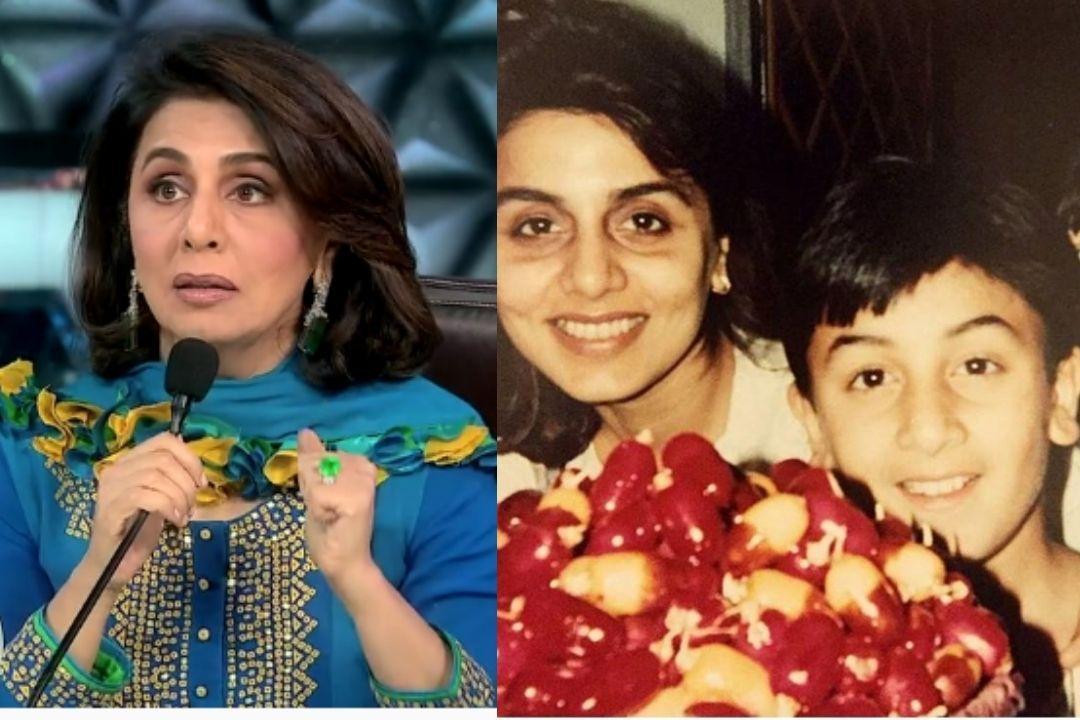 Neetu Kapoor recalls Ranbir kapoor childhood antics