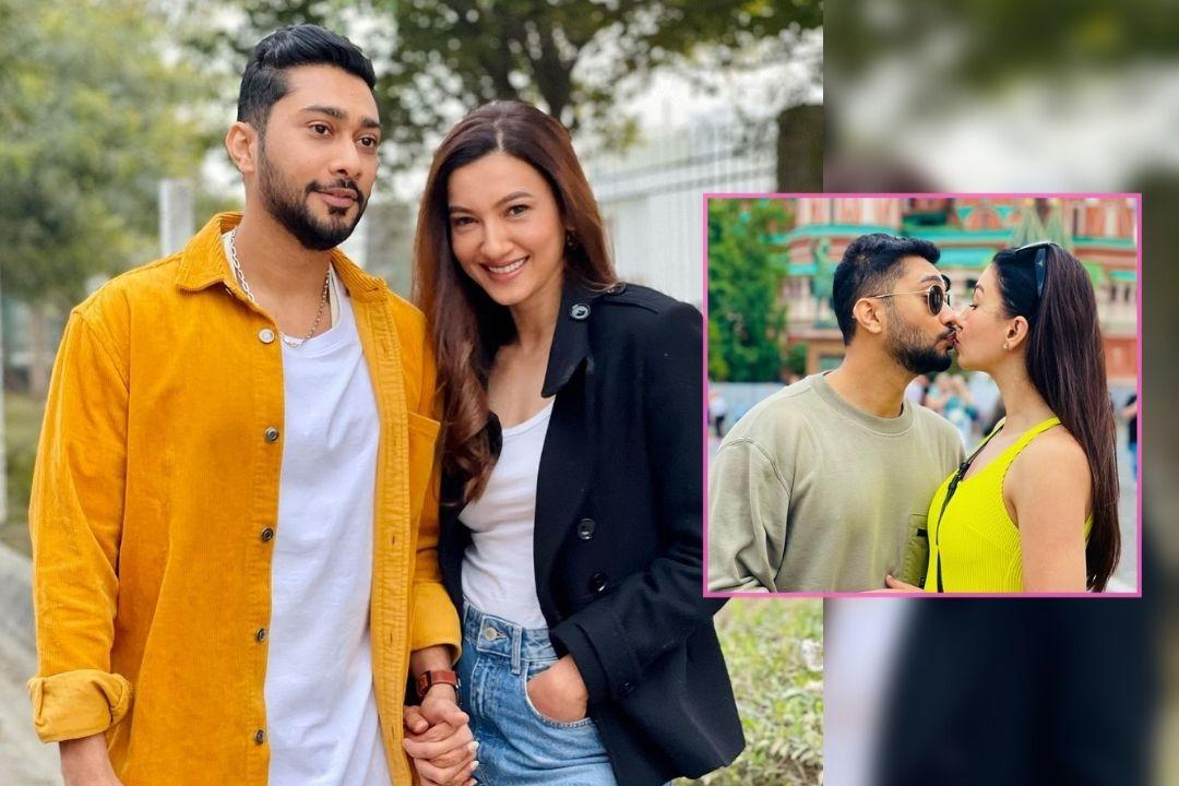 Gauahar Khan And Zaid Darbar Honeymoon pictures love in moscow